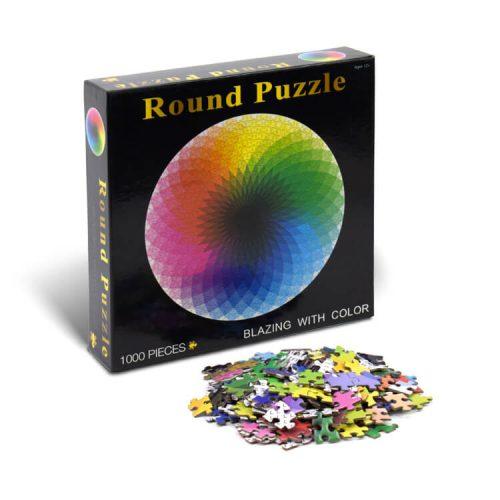 RGB jigsaw puzzle
