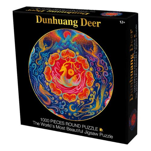 Dunhuang Flying Deer Puzzle -1000 Pieces Square Jigsaw Puzzle
