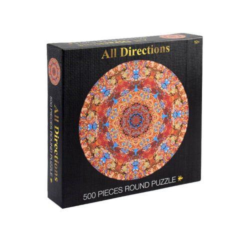 500 Pieces Round Puzzle