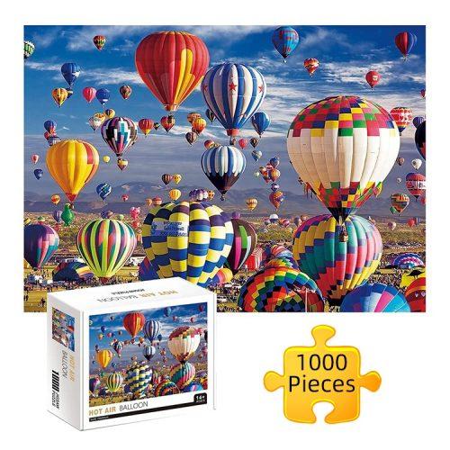 Aegean Sea Hot Air Balloon Jigsaw Puzzles