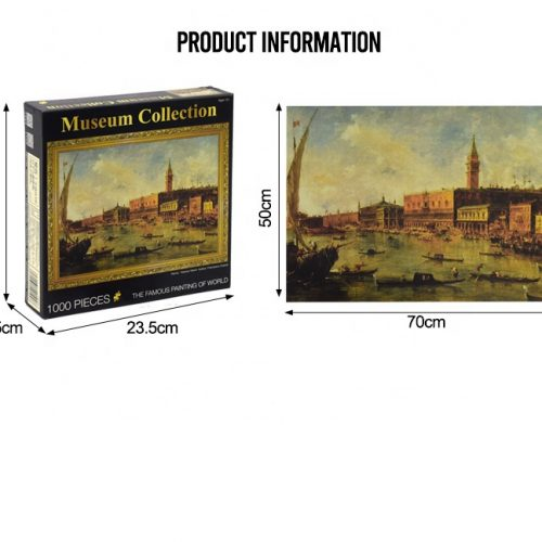 Oil painting 2000 pieces Jigsaw Puzzle